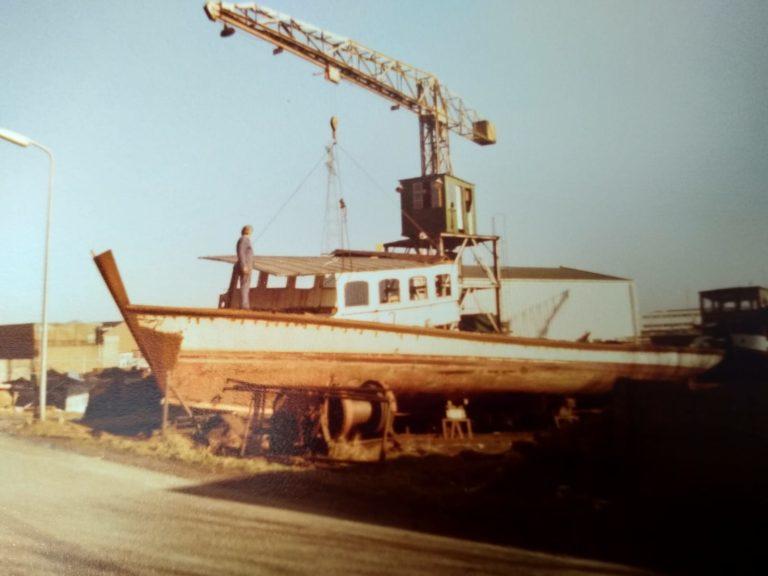 Bürgenstock wird auf der Werft zur Yacht umgebaut