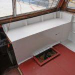 Neues Steuerhaus der Yacht Gino