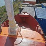 Vorschiff gestrichen