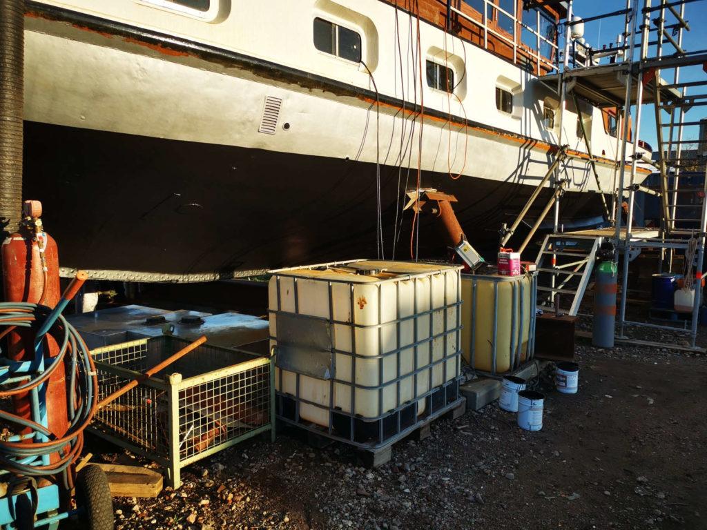 Yacht Gino Kabel Ausbau