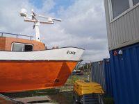 Radarmast Vorschiff